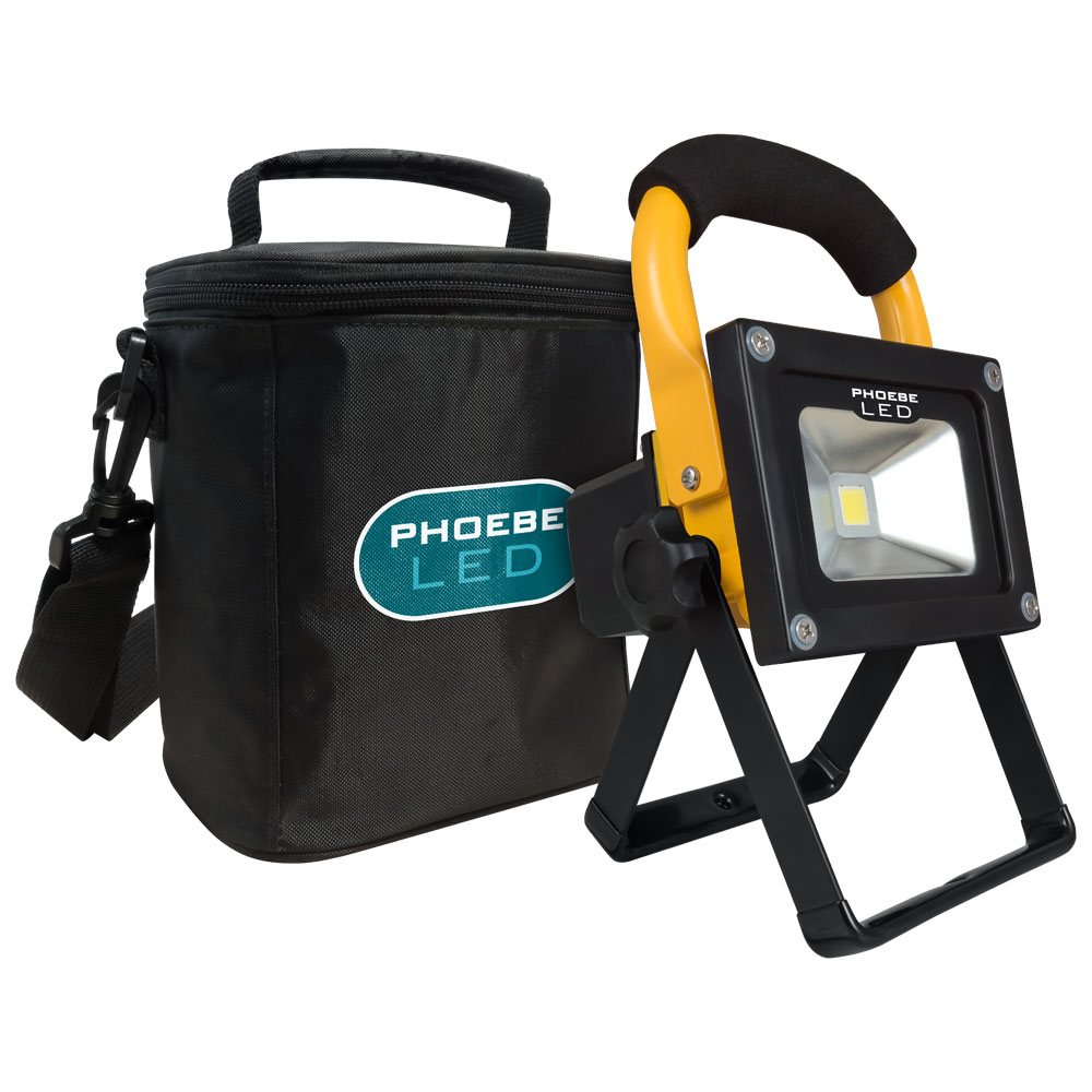 Phoebe LED Portable Worklight and Carrylight Range