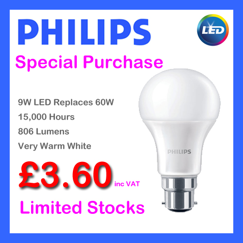 Philips 60W Replacement LED Light Bulb
