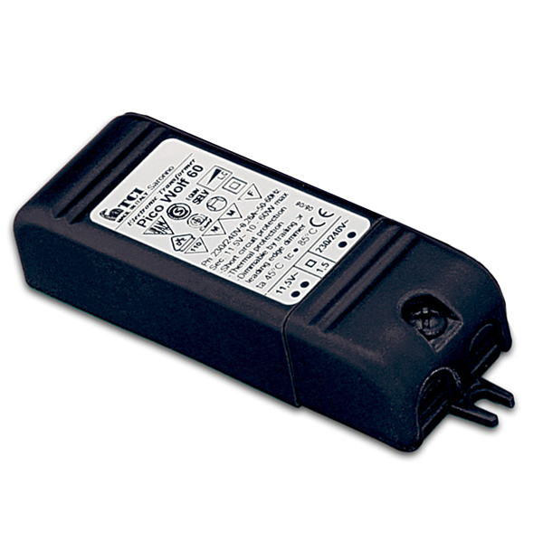 TCI PICO WOLF 60 60VA Mini Dimming Transformer