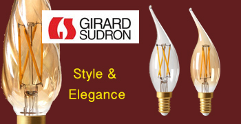 Girard Sudron Decorative LED Lamps