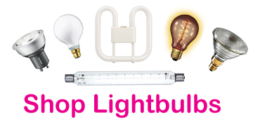 Shop for light bulbs and tubes