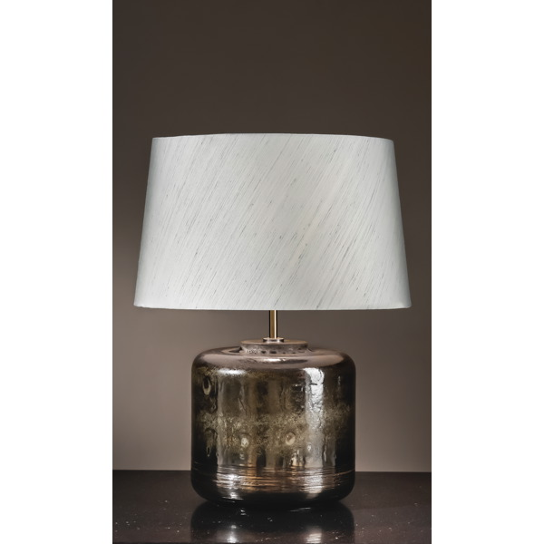 Elstead lui columbus tal luis collection columbus tall table lamp and shade